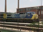 CSX C40-8W 7916 at Hulsey Yard